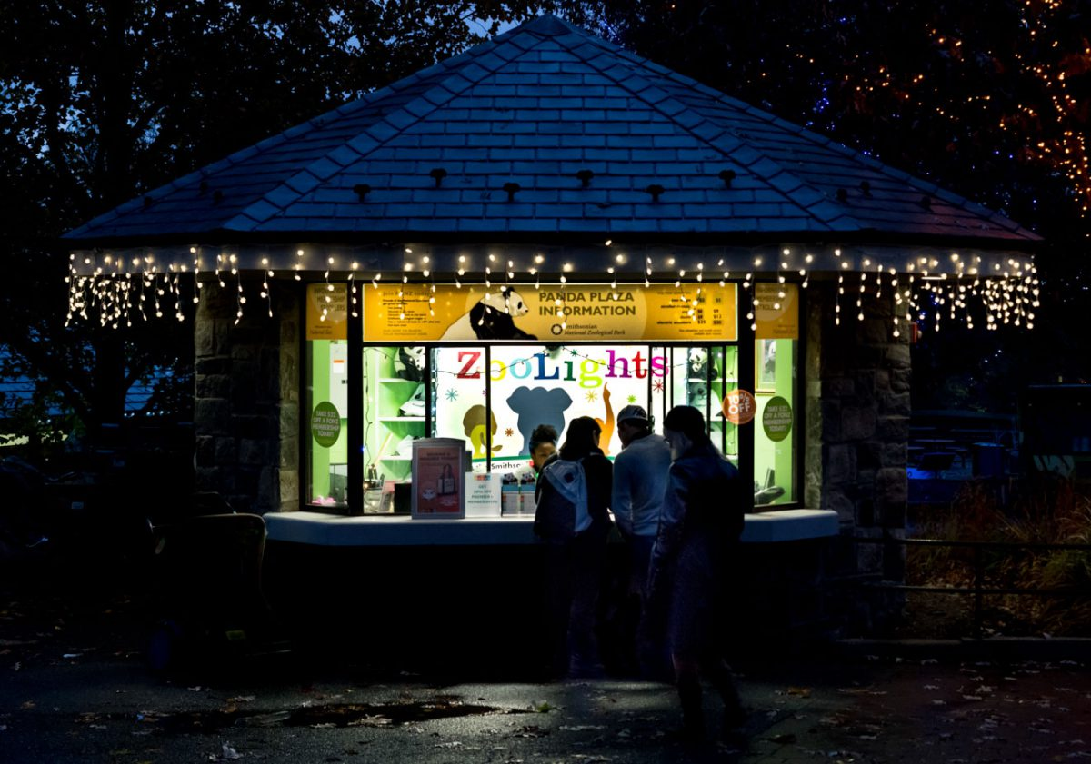 Food kiosk, National Zoo