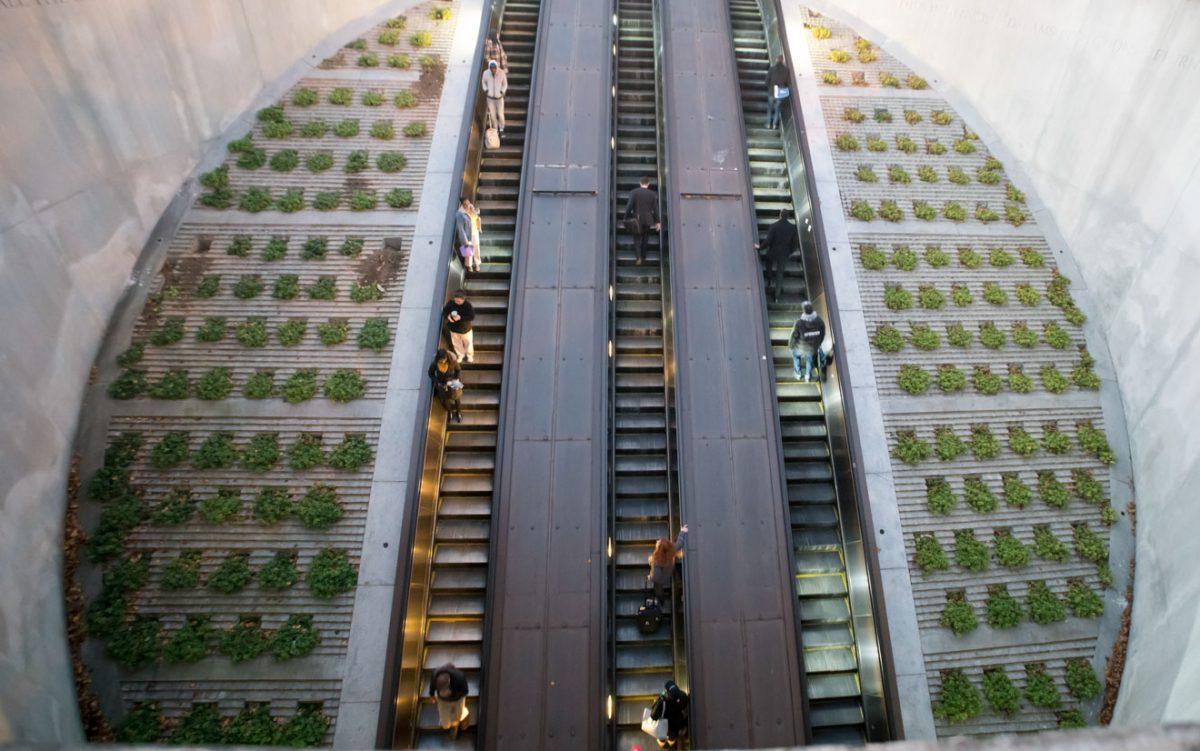 Dupont Circle escalator