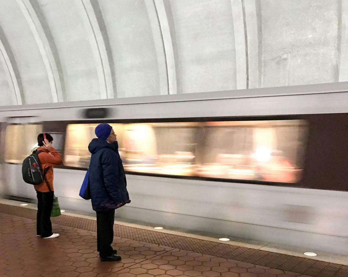 Metro arrival